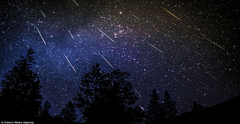 Perseid Meteor Shower and Slot Machines